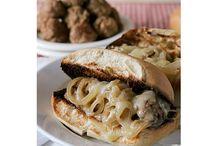 sandwiches / by Betty Hatcher