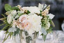 Mercury Glass / Mercury glass vases, votives, wedding centerpiece, wedding flowers, receptions / by Fleurs De France