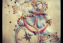 tattoos / by Sarah Lefebvre