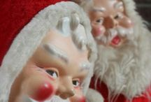 Simply Santa HoHoHo / The joys of christmas and the nostalgia for vintage Santas... / by Jeanne Norman