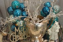 Inspiration : Winter Wedding in Blue and Silver / by Brenda of Brenda's Wedding Blog