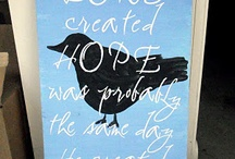 this makes me think of Hope / by Elizabeth Sever