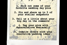 Your Wonderful Wedding Pics / Share those special moments and unique memories with others to help them make their day even better! #watermillweddings / by Watermill Caterers