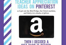 Teacher Appreciation / by Sara Parr