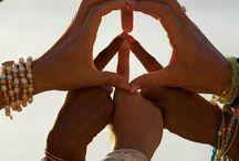 h i p p i e  l o v e / peace and love x / by Ella Witters