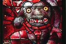 Devil / Depictions in art of devils, demons, malevolent but often comical beings. / by Idiosyncratic Things