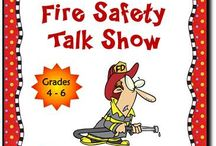 Fire safety/red ribbon week / by Marta Villarreal
