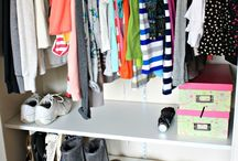 Closets, Drawers, and Shelves / by Danielle Manes
