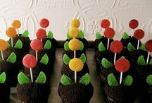 Cupcake Ideas / Use candy in creative ways to decorate cupcakes! / by Groovy Candies