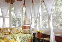 Sunny days in the sun room / by Danielle Elmore