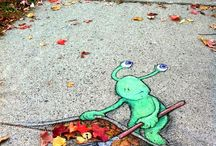 Street art / by Samantha Murray