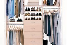 Closet Envy / Your closet is like a painter's palette. An organized closet will help you use your clothes/accessories to create a fashion masterpiece.  / by Lee Jeans