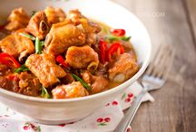 Asian/Filipino cuisine to try / by Mayen Cruz