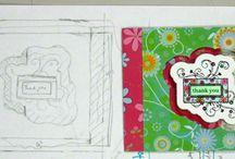 CARD TEMPLATES / by Crafty Grandma