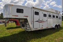 Horse Trailer Ideas / by The North Carolina Cowgirl