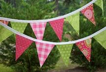 Fabric Pennant Banners / by Kokomo Cutie