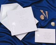 Beachy Wedding Invitations / by Papers Unique