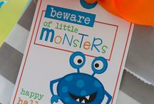 beware of cute monsters for boys and girls by Lauren McKinsey / by Lauren McKinsey