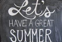 Summer  / by Amanda O'Malley Hewson