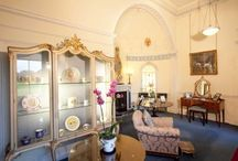 Princess Mary's Dressing Room / Princess Mary's Dressing Room is a small gem within Harewood House, Yorkshire. The room displays a small collection of the Princess' personal items, and is a delight to see for all visitors to the heritage site. / by Harewood House