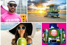 "It's So Miami Vending Machine / In #NYC? Use the #SoMiami Vending Machine in Times Square on June 18, 2014 for your chance to win a trip to Miami.  Take a look at the pics from this event, including ""PitBull,"" winners winning trips to #Miami and more!    / by Miami & Beaches"