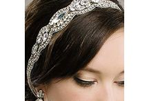 Sara Gabriel Headpieces & Veils at Perfect Details / Sara Gabriel headpieces, bridal hair accessories, bridal veils and short veils at perfectdetails.com.  Influenced by 40's starlets & Old Hollywood Glamour. / by Perfect Details ~ Designer Bridal Jewelry & Accessories