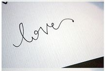 Calligraphy / by Lucille Hall