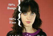 she bangs, she bangs / by McKenzie Young