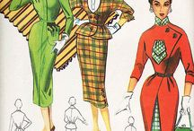 vintage dress patterns / by Marilyn Malone