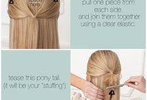 Hair Ideas / by Allison