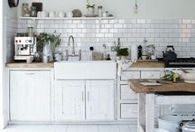 White Kitchens / by Stacey (Boy, Oh Boy, Oh Boy Crafts)