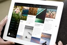 Tablet UI | Contents / Tablet Design Inspiration / by Timoa