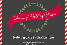 Holiday Open House at 11 Magnolia Lane / Holiday ideas from bloggers 11 Magnolia Lane, DIY & Show-Off, Jenny Steffens Everyday Occasions, At The Picket Fence, Celebrating life with Jennifer Caroll, and Dixie Delights. / by Amy@11MagnoliaLane