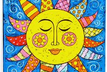 Let the sun shine.. / Sunshine warms the heart / by Jean Montgomery