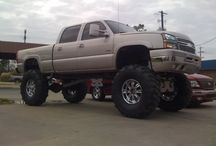 Chevy Trucks  need I say more? / by Melissa Soyring