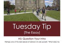 Boston College Admission Tips / by Boston College