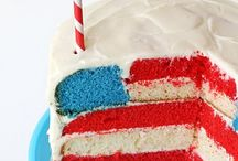 Red, White, + Blue / by Susan Salzman(The Urban Baker)