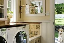Mudroom / laundry room  / by Heather Rubin