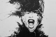 Pintura / Artistas plasticos de todo el mundo, oleo, acuarela, lapiz, spray,etc. / by VERBÖTEN MAGAZINE
