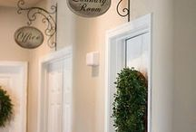 Hallway Ideas  / by Andrea Oliver