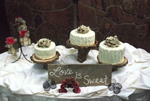 Cakes and Sweet Other Treats / by Boulder Country Club Weddings