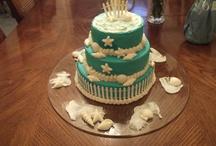 Beach Theme Wedding Cakes (Lifescake.com) / by Donna Lemery (Life's Cake)