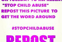 Help Stop Child Abuse / by Kc