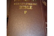 Hebrew Bibles / by BIBLE WORLD