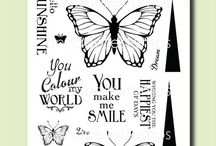 Butterfly Sunshine / by AnnaBelle Stamps
