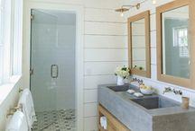Bathroom remodel / by Tara Abhold