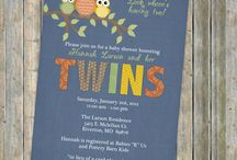 Twins baby shower / by Lindsey Snyder
