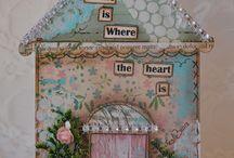 Cards: Walls, doors, windows & furniture / by Anne-Marie Steyn