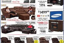 AFW Ad Board / Check out our ads for lowest prices - anytime - anywhere! / by American Furniture Warehouse