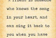 Friendship! / by Hilda Rocha